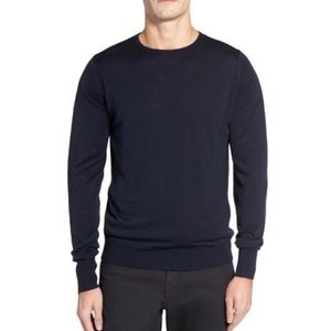 NWT John Smedley Marcus Easy Fit Pullover medium